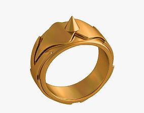 Self-defense ring 3D print model