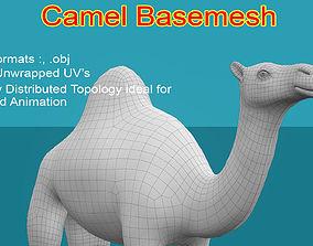3D model Camel Basemesh
