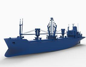 3D print model BAHRAIN ship