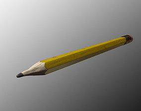 Pencil 3D graphite