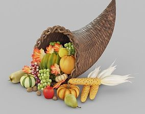 Fruits and Vegetables 3D asset