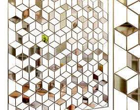 Decorative partition set 15 3D model