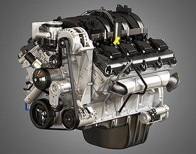 1500 Ram Engine - V8 Pickup Truck Engine 3D