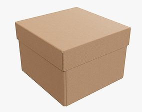3D Lid and try cardboard box packing 06