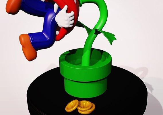 Super Mario Game Over