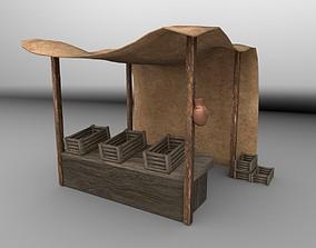 3D asset Medieval Bazaar 01 - PBR