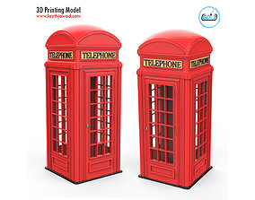3D print model Rgbstock Phone Booth