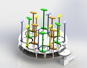 3D MAYPOLE BRAIDING MECHANISM