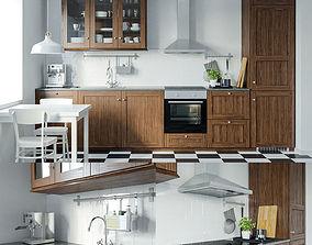 Ikea Edserum kitchen set 3D model