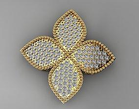 3D print model clover