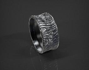 3D print model Lava Ring size 7 US