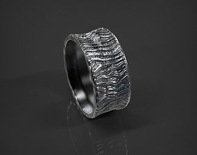 3D print model Lava Ring size 7 US