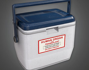 3D asset HPL - Medical Organ Transplant Cooler PBR Game
