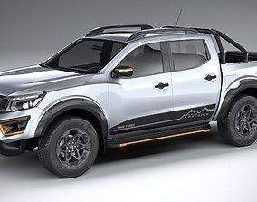japan Nissan Navara N-Trek Warrior 2020 3D