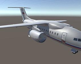 3D asset Antonov AN-148