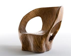3D model Cara Armchair