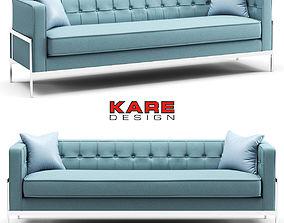 Kare Sofa Loft 3-Seater 3D model