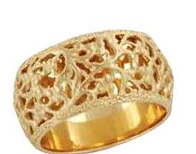 Patterned wedding ring 100 3D printable model