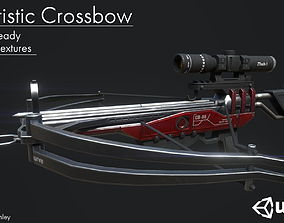 Crossbow 3D model rigged VR / AR ready