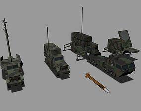 3D asset MIM-104 Patriot
