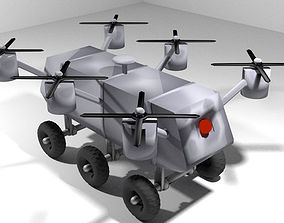 Drone - UGV Air Robot 3D model