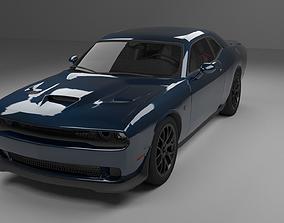 3D asset Dodge Challenger Hellcat