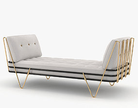 3D Jonathan Adler Maxime daybed