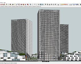 Architecture Sketchup Tower S3 3D model