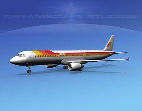 Airbus A321 Air Canada Eagle 3D model | CGTrader