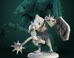 3D print model Gnoll Maradeur pre-supported