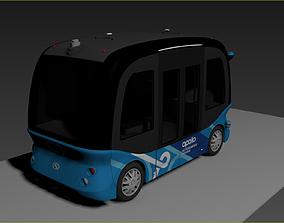 3D model Driverless vehicle