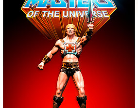 Fanart He-Man and the Masters of the 3D printable model 2