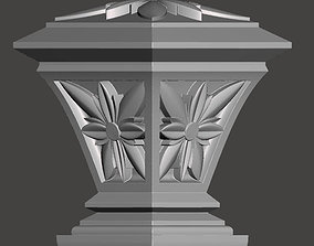 WoodCarving detail - 3d model for CNC 2