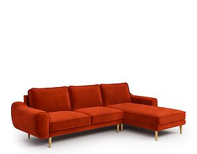 KLEM sofa by Normod fabric 1800 and relax 3D model