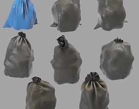 3D model Garbage dusty bags