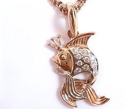3D printable model Gold Fish