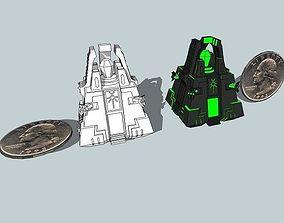 6mm DeathBot War-Pyramid 3D printable model