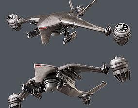 3D model Hunter killer-drone