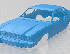 Mustang Coupe 1974 Printable Body Car