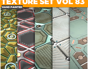 Scifi Vol 83 - Game PBR Textures 3D asset