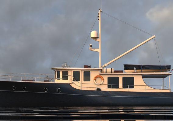 Gentleman's yacht
