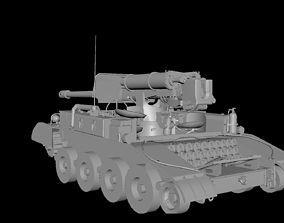 A101 M56 Tank 3D model