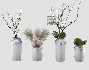 3D greenery Plants collection