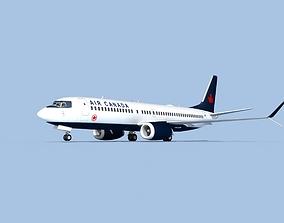 Boeing 737-800 Max Air Canada 3D