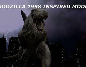 Godzilla 3D Models | CGTrader