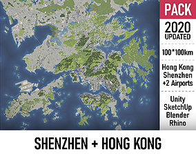 3D Shenzhen and Hong Kong - MEGAPACK