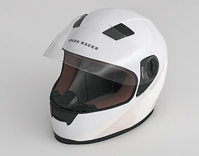 3D model Motorcycle Helmet stunt