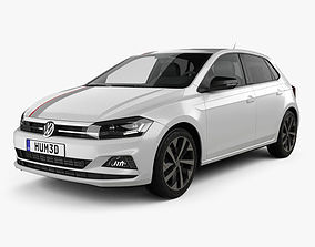 Volkswagen Polo Beats 5-door 2017 3D model