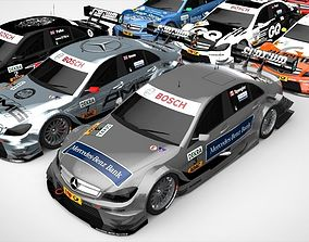 3D model Mercedes Benz DTM 2011 Season Pack