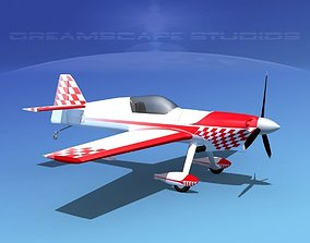 3D model rigged MXS Aerobatic Sport